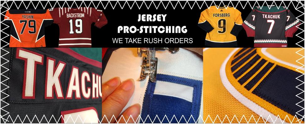 Pro Stitch Jersey Numbering