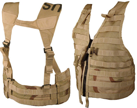 Military Surplus Army Desert FLC Tactical MOLLE Vest
