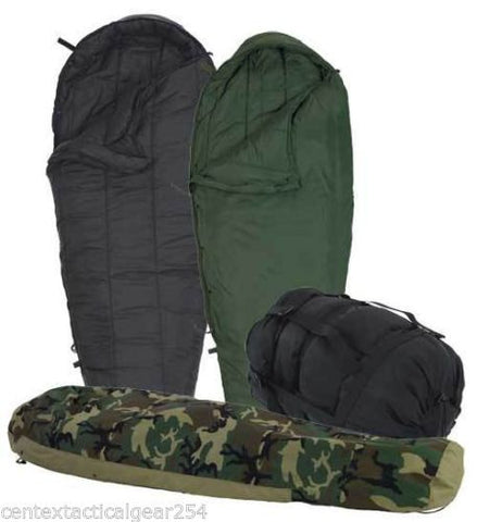Military Sleeping Bag System MSS Woodland Camo