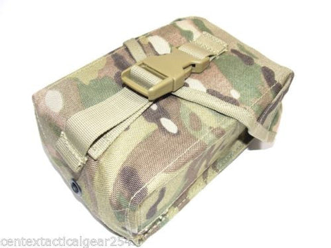 MULTICAM 100 Round SAW Gunner Pouch OCP General Purpose MOLLE Ammo Holder