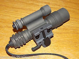 PENTAGONLIGHT MD2 Tactical Rifle Mounted Flash Light LED Weapon Rail Light