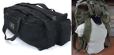 Military Tactical Deployment Duffle Bag Backpack Large Travel Pack Mossad IDF
