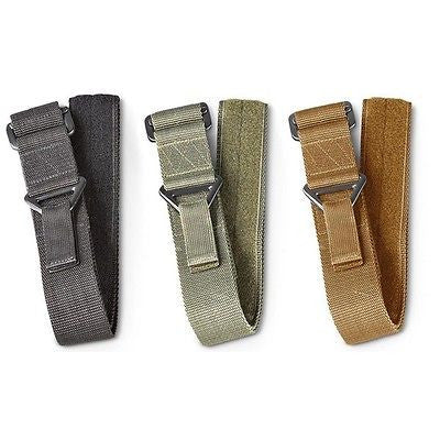 Military Army Combat Uniform Cargo Strap Riggers Tactical BDU Belt w/ Velcro
