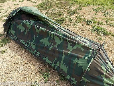 ... Woodland Camo One Man Survival Tent Camouflage Bivouac Bug Out Compact Shelter ... & Woodland Camo One Man Survival Tent Camouflage Bivouac Bug Out ...