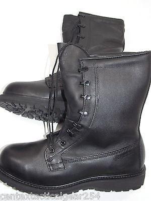 BATES Military Black Gore-Tex Intermediate Cold Weather Combat Boots sz:12.5 R