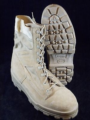 BATES DURASHOCKS ST DESERT TAN MILITARY STEEL TOE WORK BOOTS SIZE 9