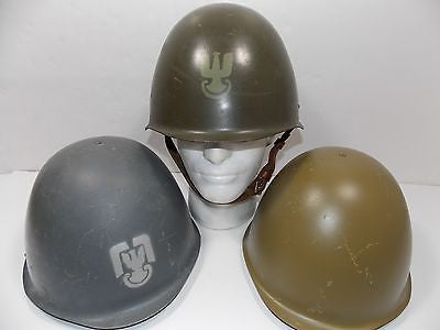 Military Surplus Russian Army WWII M52 Hungarian Poland Steel Pot Helmet M-52