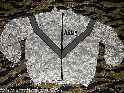 ARMY ACU DIGITAL CAMOUFLAGE PT JACKET IPFU IMPROVED PHYSICAL TRAINING  TOP ACU