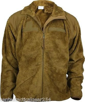 POLARTEC Thermal Pro Fleece Jacket GEN III Level 3 Top Coyote Brown Medium/Reg