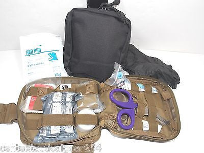 Tactical Medic Kit First Aid Military Police LEO Drop Leg MOLLE IFAK Pouch NEW