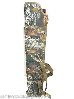 MOSSY OAK CAMO Tactical Shotgun Scabbed MOLLE Ambidextrous Sling Carry Case
