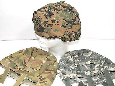 ACH MICH Combat Helmet Cover Multicam, Woodland Digital, Army ACU Digital NEW!