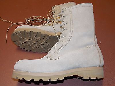 Military Gore-Tex Cold/Wet Weather Boot Army Desert Combat Boots 13.5 R