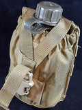 Eagle FSBE Coyote Brown MOLLE/PALS 1 Quart Canteen Pouch USMC Recon GP EIUI
