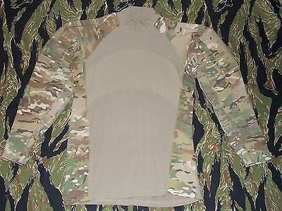 Multicam Army Combat Shirt ACS Long Sleeve Hot Weather Stretchy OCP FR Top