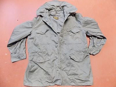 VINTAGE AIR FORCE 1957 SINGLE BREASTED USAF MILITARY JACKET GREEN MEDIUM/REGULAR