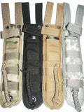 "Universal Tactical Combat Fighting Knife 8"" Blade MOLLE Sheath Bayonet Scabbard"