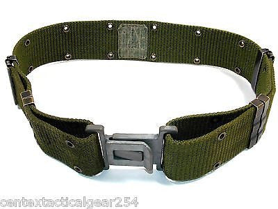 US Military Army ALICE Pistol Belt Individual Equipment OD Green LC-2 Medium