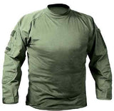 Military Law Enforcement Tactical Army Combat Shirt Long Sleeve BDU Top MOCK New