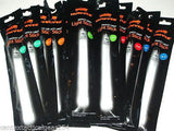 "Lot of 12-25 Color Variety Pack Light Sticks 6"" 8-12hr Safety Glow Stick Lights"
