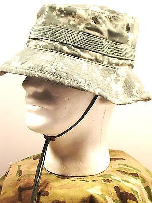 Army Digital ACU Boonie Cap Hot Weather Combat Uniform Sun Hat Universal Camo