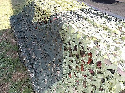 Camo Net Military Style Camouflage Netting 6'X8' Hunting Blind Concealment Cover