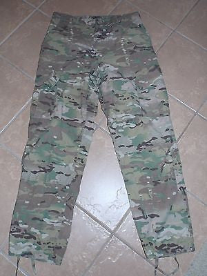 MULTICAM Army Combat Cargo Pants OCP Trouser 8 Pockets Flame Resistant USED