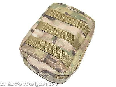 MULTICAM Medic IFAK First Aid Kit Pouch MOLLE Medical Supplies Clamshell Opening