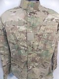 Army MULTICAM Combat Uniform Top OCP Coat Jacket w/ Velcro for Patches USED