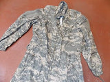 CVC ARAMID COMBAT VEHICLE COVERALLS NEW LARGE/SHORT FIRE RESISTANT ARMY ACU