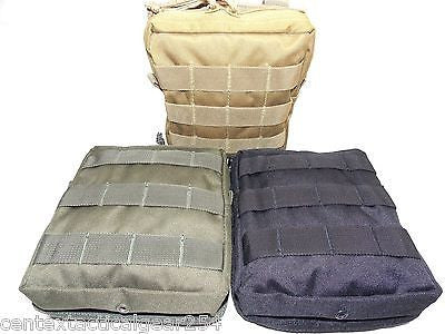 Tactical MOLLE Vest GP Utility Pouch Dual Zipper Medic Supplies IFAK Mag Holder