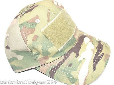 MULTICAM OCP Tactical Hat Operator Ball Cap Hook & Loop Velcro for Patches