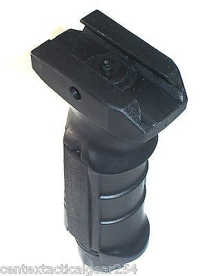 Black Rifle Tactical Front Fore-Grip Pressure Switch Slots Battery Compartment