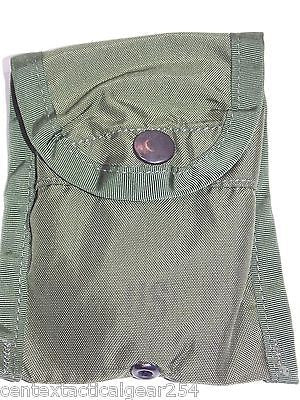 US Military OD Green Olive Drab First Aid Dressing/Compass ALICE Clip Pouch LC-1