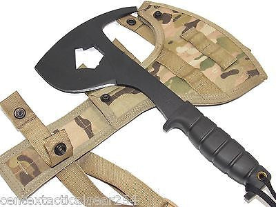MULTICAM Army Hatchet Ontario SPAX Rescue Axe SP16 First Responder Survival Tool