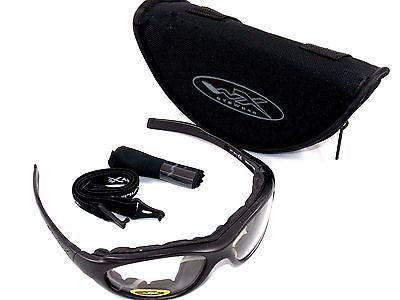 WILEY X XL-1 TACTICAL SUN GLASSES PROTECTIVE EYEWEAR EYE PRO KIT