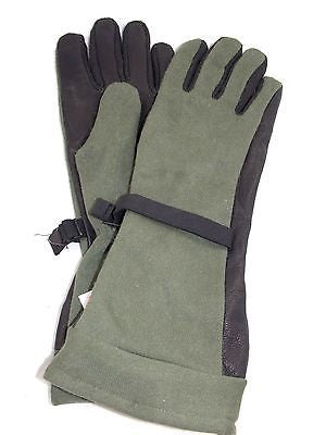 Military Fuel Handler's Tactical Gloves Fueler Glove Gore-tex Leather Nomex XL