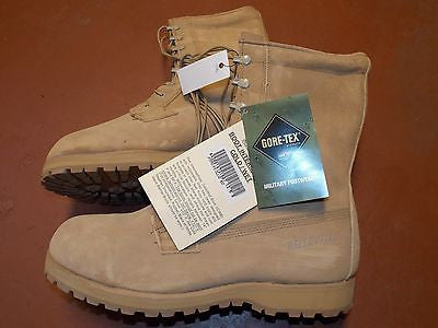 BELLEVILLE Military Gore-Tex Cold/Wet Weather Boot Army Desert Combat Boots 12.5