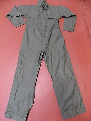 Military Coveralls Utility OD Green Large Equa Industries  8405-01395-1135