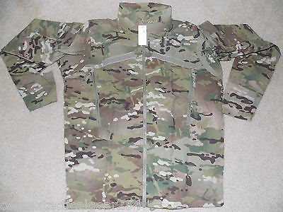 MULTICAM Level 4 Wind Jacket GEN III Cold Weather Army OCP Camouflage Large/Long