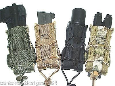 Universal Fit Single Magazine Pistol Clip Pouch HSGI Taco MOLLE Open Top Pouch
