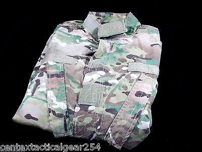 Army Multicam/OCP Combat Uniform FR Top Coat Jacket Shirt Size: Small/Short