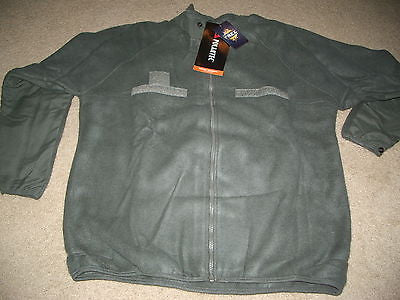 POLARTEC EXTREME WEATHER OUTER LAYER FREE EWOL FLEECE JACKET LINER LARGE/SHORT