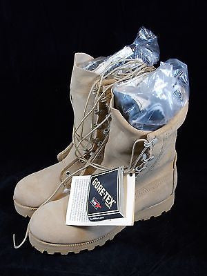 BELLEVILLE Military Gore-Tex Cold/Wet Weather Boot Army Desert Combat Boots 6.5R