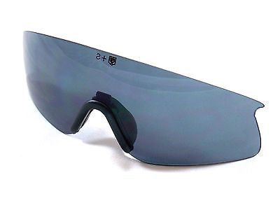 Revision Sawfly Shooting Safety Glasses Replacement Smoke Dark Grey Lens Large