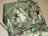 Military Large Equipment Bag Woodland RuckSack Mounted Crewman's Field Pack BDU