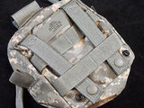 Army Digital ACU GP Pouch Medic Pocket Dual Top Zipper MOLLE Supplies Holder