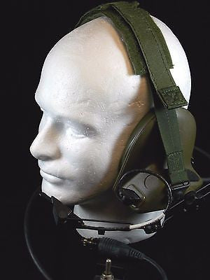 MILITARY COMMUNICATIONS HELMET HEADSET MICROPHONE CAPS PASGT HELMET CVC