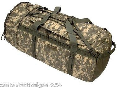 Army ACU Digital Camo Huge Deployment Bag Duffle w/ Shoulder Straps FOR46 Hybrid