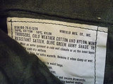Vintage Military Cold Weather Pants Olive Drab OD Green Small/Long Army 107